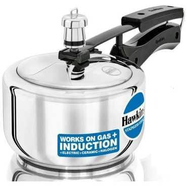 Hawkins HSS15 1.5L Stainless Steel Pressure Cooker (Inner Lid)