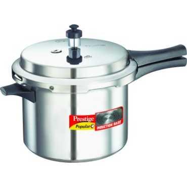 Prestige 10203 Aluminium 5 L Pressure Cooker Induction Bottom Outer Lid