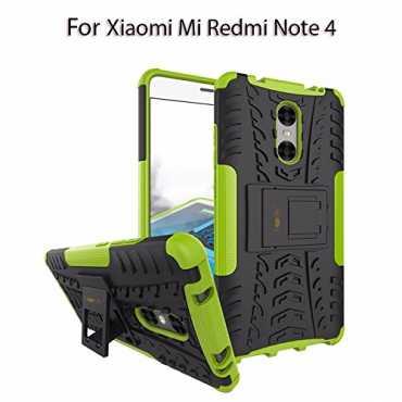 Tough Hybrid Flip Kick Stand Spider Hard Dual Shock Proof Rugged Armor Bumper Back Case Cover For Xiaomi Mi Redmi Note 4