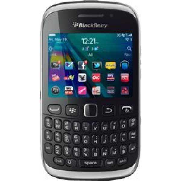 BlackBerry Curve 9320 - Black | White