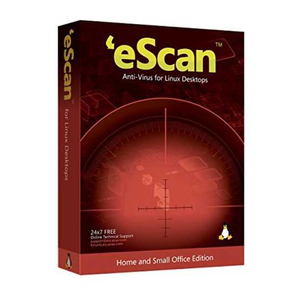 eScan AntiVirus for Linux Desktop 3 Users 2 Years