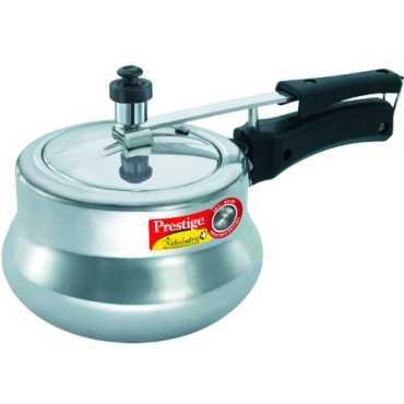 Prestige Nakshatra Plus Handi Aluminium 3 L Pressure Cooker Induction Bottom Inner Lid
