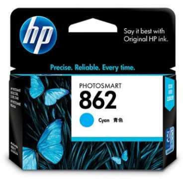 HP 862 Cyan Ink Cartridge - Blue   Cyan