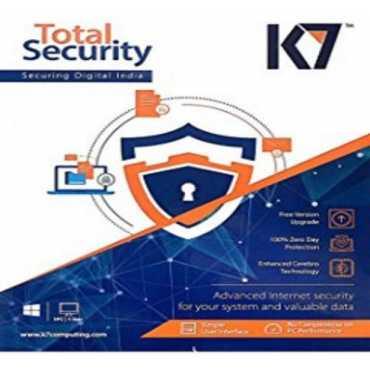 K7 Total Security 2016 5 PC 1 Year Antivirus
