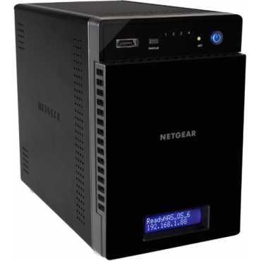 Netgear ReadyNAS 314 4-Bay Diskless Network Hard Disk - Black