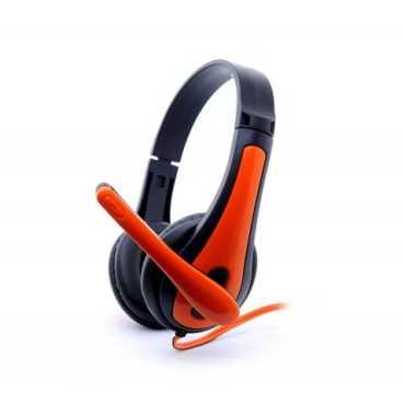 Zebronics Colt-2 Headset - Orange   Red   Grey   White