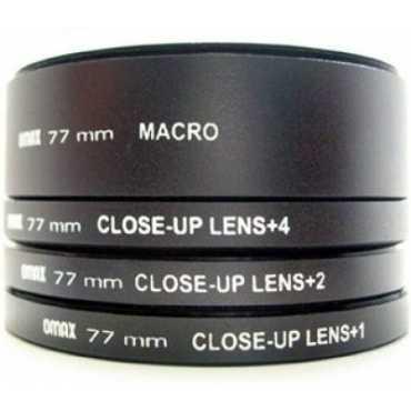 Omax 77 mm Closeup Lens Kit Filter