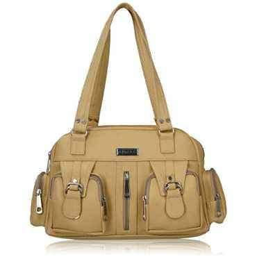 Women s Handbag Beige FNB-398