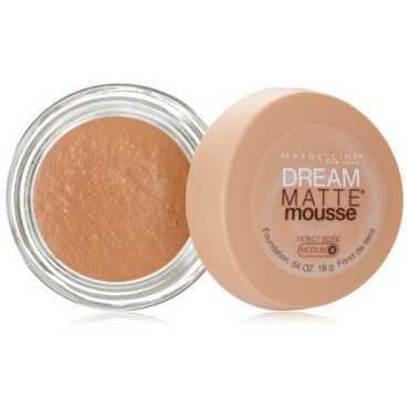 Maybelline Dream Matte Mousse Foundation Honey Beige Medium