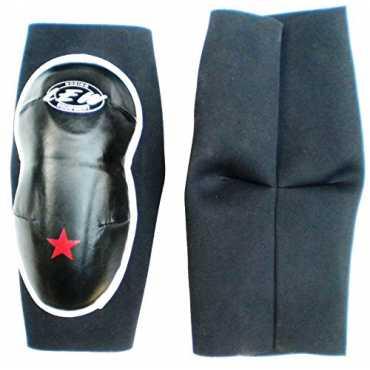 LEW Pro Neoprene MMA Knee Guards - Black