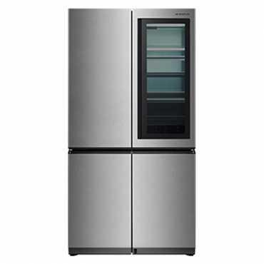 LG GR-Q31FGNGL 984L Side By Side Door Refrigerator - Steel