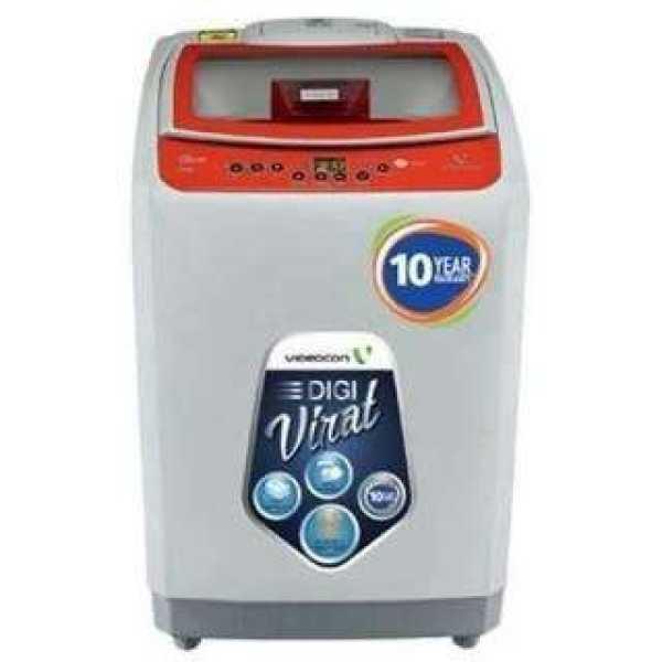 Videocon 10 Kg Fully Automatic Top Load Washing Machine (Digi Virat Vt10C44-Sry)