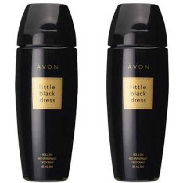 Avon Little Black Dress Deodorant Roll-on (Set of 2)