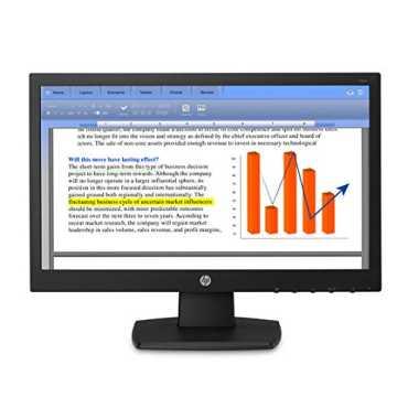 HP V194 (V5E94AA) 18.5-inch LED Monitor - Black
