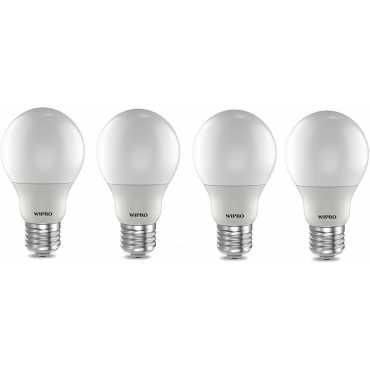 Wipro Garnet 12W E27 LED Bulb (Yellow, Pack of 4) - Yellow