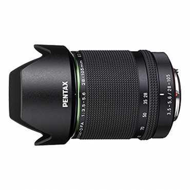 Pentax D FA 28-105mm F3.5-5.6 ED DC WR Zoom lens - Black