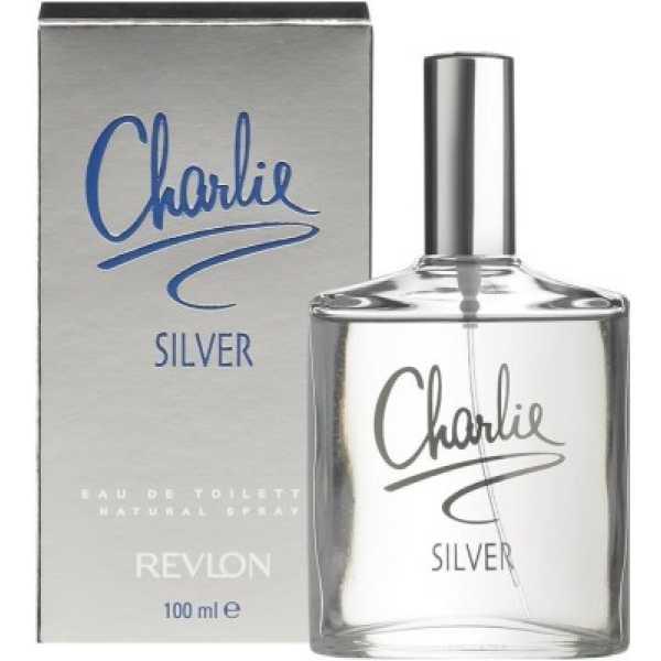 Revlon Charlie Silver Eau de Toilette Perfume 100 ml