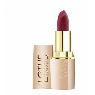 Lotus Herbals Pure Colors Lip Color (Rose Madder 611) - Pink