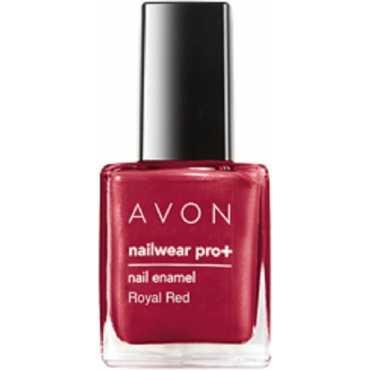 Avon Color Nailwear Pro Plus Nail Enamel Royal Red