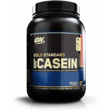 Optimum Nutrition 100 Gold Standard Casein 2 lbs Strawberry