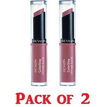 Revlon Colorstay Ultimate Suede Lipstick (015 Runway) (Pack Of 2)