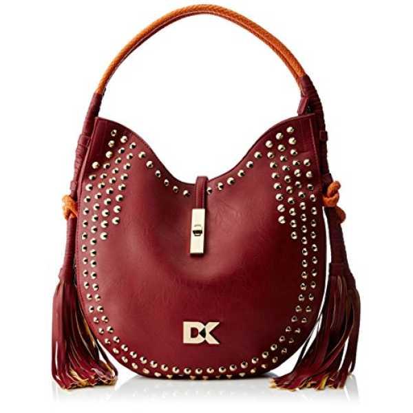 Diana Korr Women's Shoulder Bag (Maroon) (DK103HMAR)