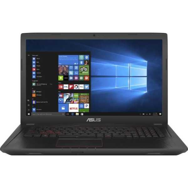Asus (FX553VE-DM318T) Laptop - Black