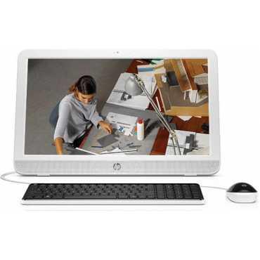 HP 20-E102IN (T0R67AA) (Intel Pentium, 2GB RAM, 500GB HDD, 19.53 Inch, Windows 10) All in One Desktop - Silver