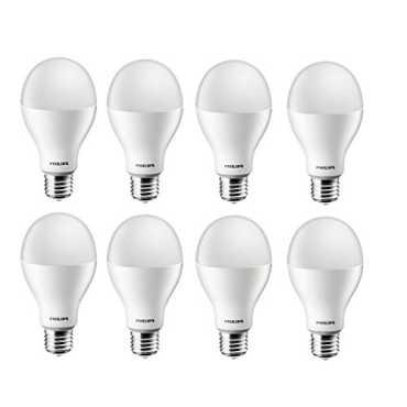 Philips Steller Bright 17W E27 1700L LED Bulb White Pack of 8