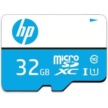 HP 32GB MicroSDHC Class 10 (80MB/s) Memory Card - White