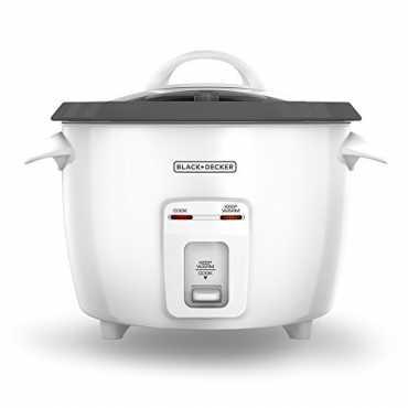 Black & Decker RC3314W Electric Rice Cooker - White
