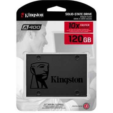 Kingston (SA400S37/120G) A400 120GB Internal SSD - Black | Grey