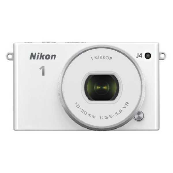 Nikon 1 J4 Mirrorless Camera - White | Black