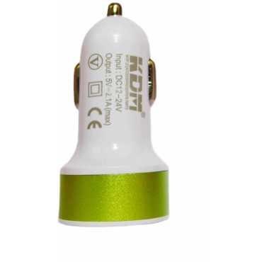 KDM 2 1A Dual USB Car Charger