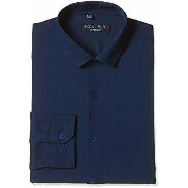 Excalibur Men s Formal Shirt 8907542394500_400016280142_39_Navy