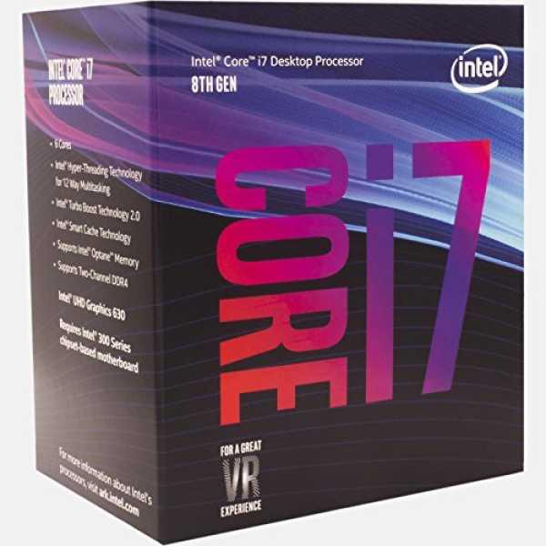 Intel (BX80684I78700) Core i7 8th Generation Processor
