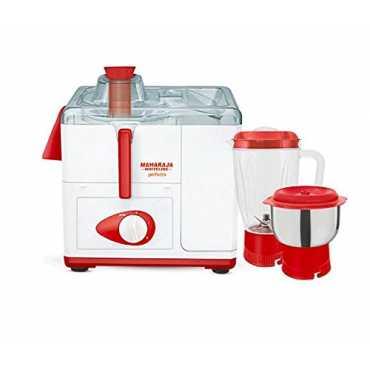 Maharaja Perfecto 450W 2 Jar Juicer Mixer Grinder - White