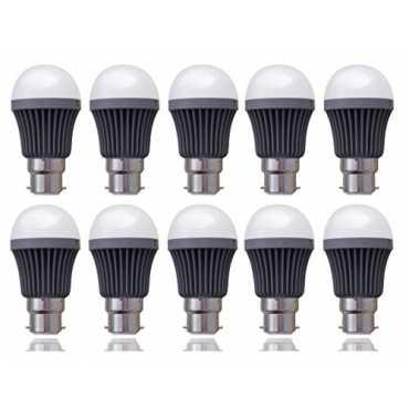 Syska SSK 5W B22 LED Bulb Cool White Pack of 10