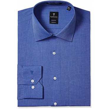 Men's Formal Shirt (8907566536832_VHSF516M11262_42_Medium Blue)
