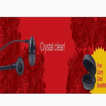 IBall IB-229 Clarity In Ear Headset - Black