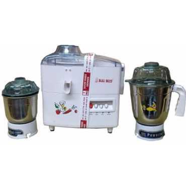 Bajaj Vacco JMG-01 500W Juicer Mixer Grinder - White
