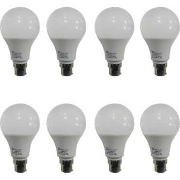 Syska PAG 9W LED Bulb White Pack of 8