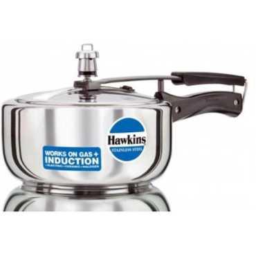 Hawkins Stainless Steel SHKHAWB33 3 L Pressure Cooker Induction Bottom Inner Lid