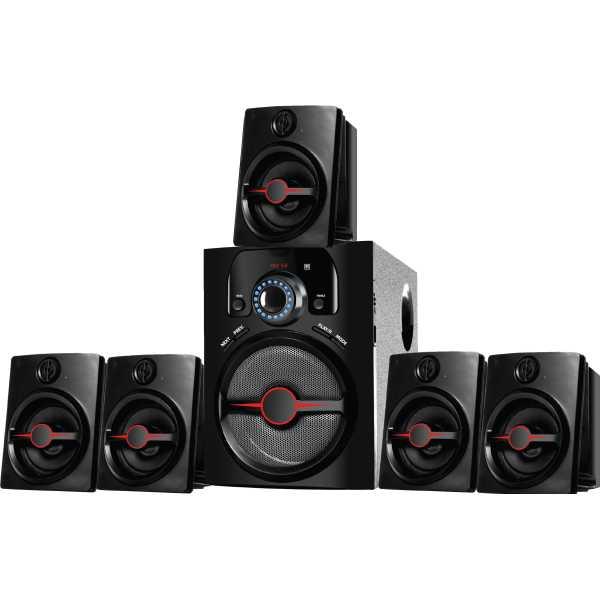 I Kall IK-444 BT 5.1 Channel Home Theater System - Black