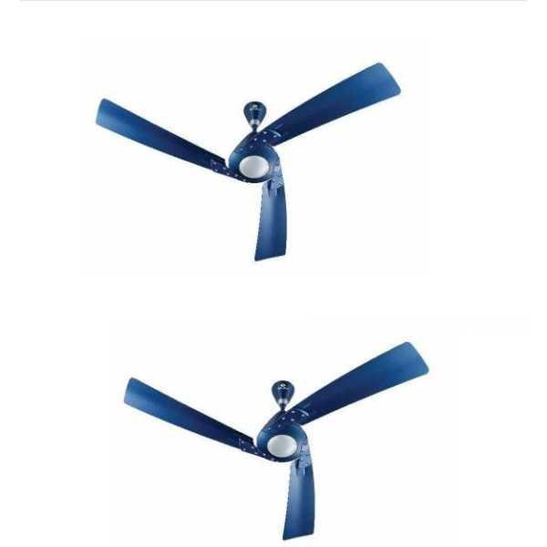 Bajaj Euro NXG 3 Blade (1200mm) Ceiling Fan (Pack of 2)