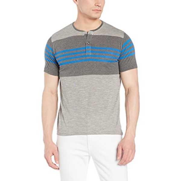 Qube By Fort Collins Men's T-Shirt (177-hstr_X-Large_Multicolor 2)