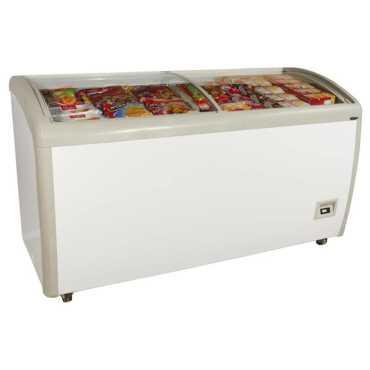 Haier HCF-550GTQ 550 L 5 Star Frost Free Glass Top Refrigerator