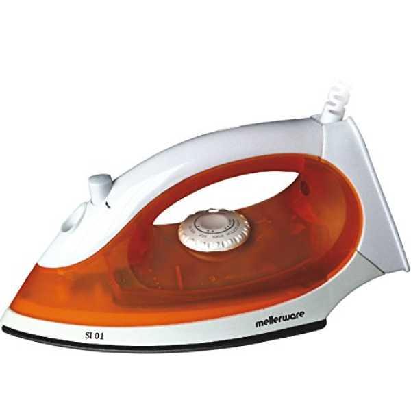 Mellerware SI 01 1200W Steam Iron - White