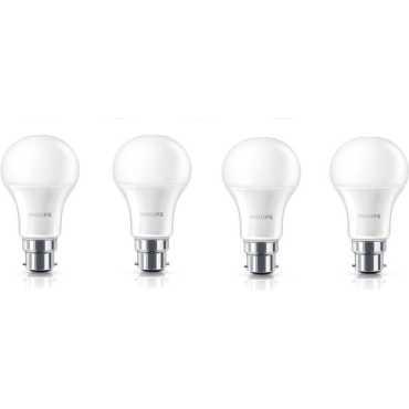 Philips Stellar Bright 7W B22 LED Bulb Yellow Pack of 4