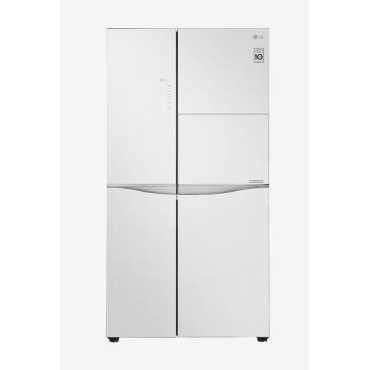 LG GC-C247UGLW 675 L Side by Side Door Refrigerator